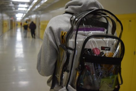 After a semester, new backpack rules still have students frustrated