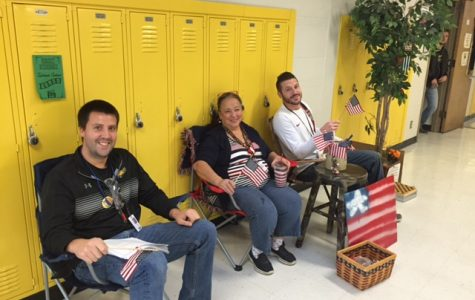 Front Porch Fridays has Teachers Sitting While Supervising