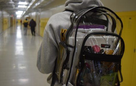 Clear backpacks are designed so that prohibited items cannot be concealed.