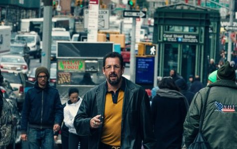 Adam Sandler walks the streets of New York in the Safdie brothers' latest frenzied masterpiece,
